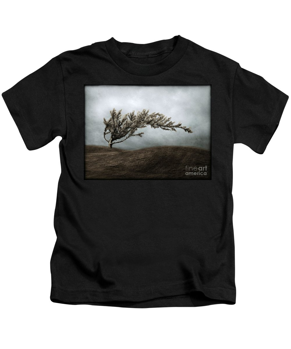 Bend Kids T-Shirt featuring the photograph We Break And We Bend And We Turn Ourselves Inside Out by Dana DiPasquale