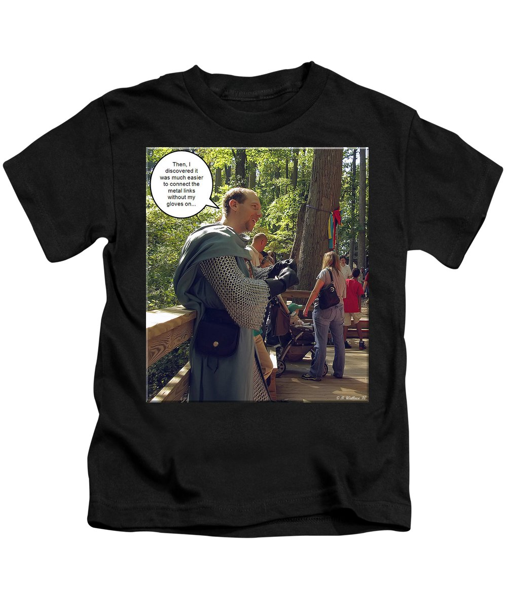 2d Kids T-Shirt featuring the photograph Weakest Link by Brian Wallace
