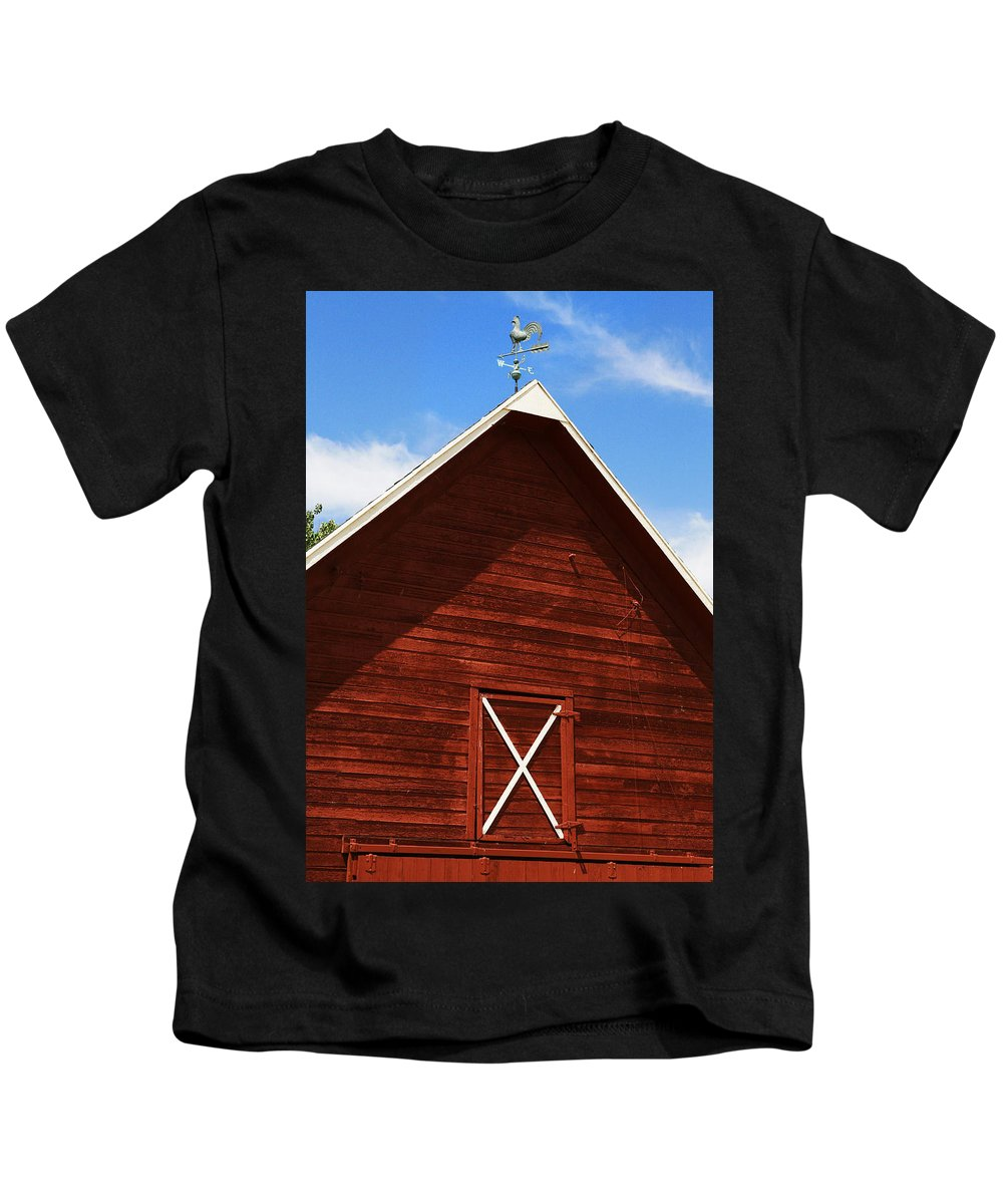 Weather Kids T-Shirt featuring the photograph Weather Vane by Marilyn Hunt