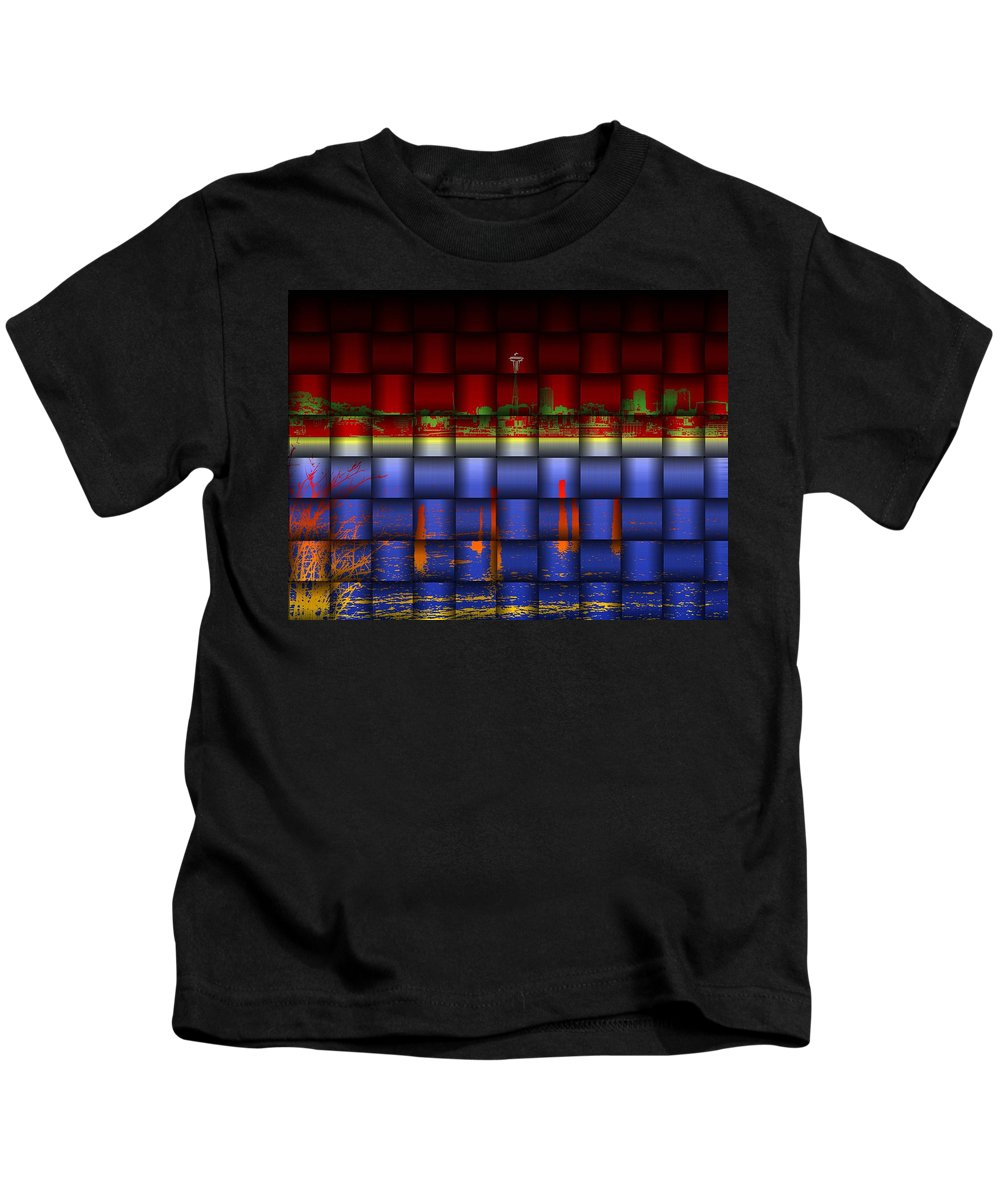 Seattle Kids T-Shirt featuring the photograph Weave Of The Needle by Tim Allen