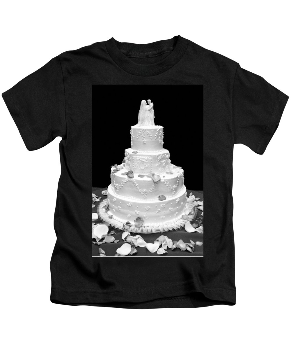 Wedding Kids T-Shirt featuring the photograph Wedding Cake by Marilyn Hunt