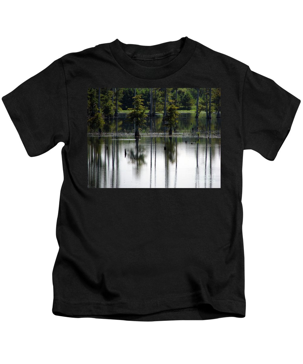 Wetlands Kids T-Shirt featuring the photograph Wetland by Amanda Barcon