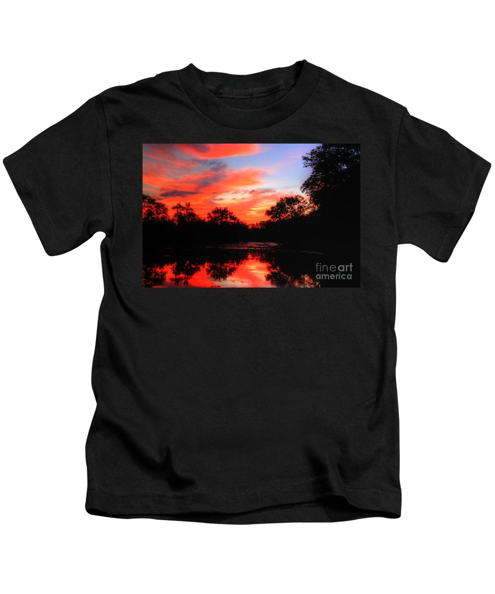 Related Tags: Kids T-Shirt featuring the photograph What A Morning 2 by Robert Pearson