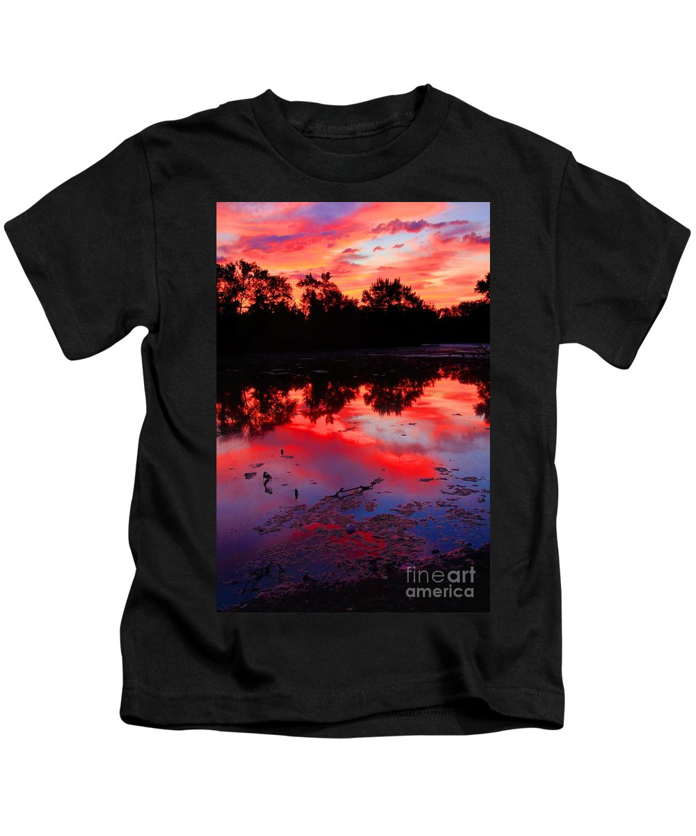 Related Tags:robert Pearson Kids T-Shirt featuring the photograph What A Morning by Robert Pearson