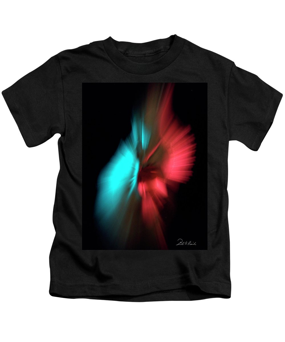 Photography Kids T-Shirt featuring the photograph Whirling Dervish by Frederic A Reinecke