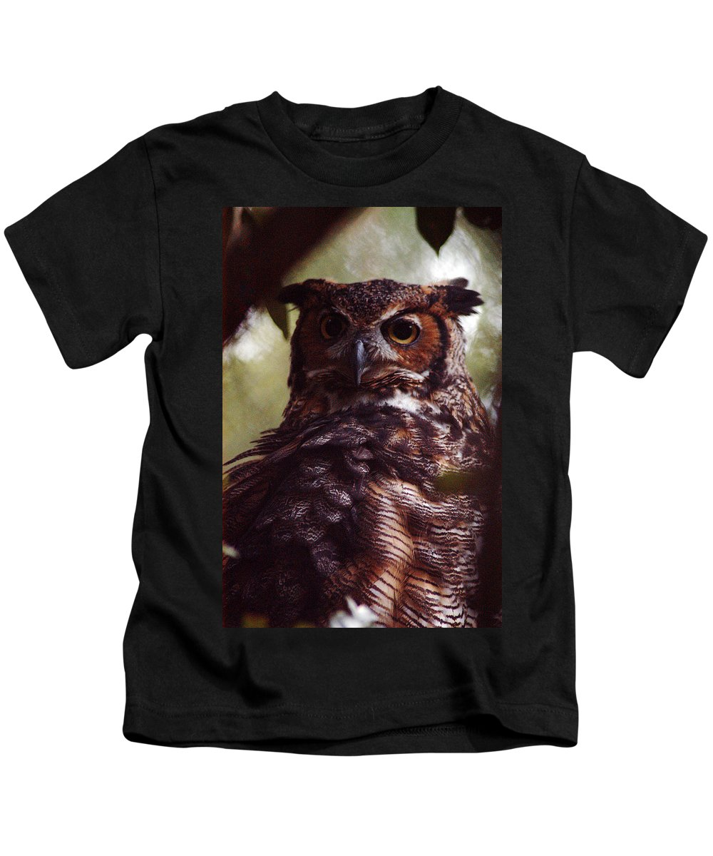 Clay Kids T-Shirt featuring the photograph Who by Clayton Bruster