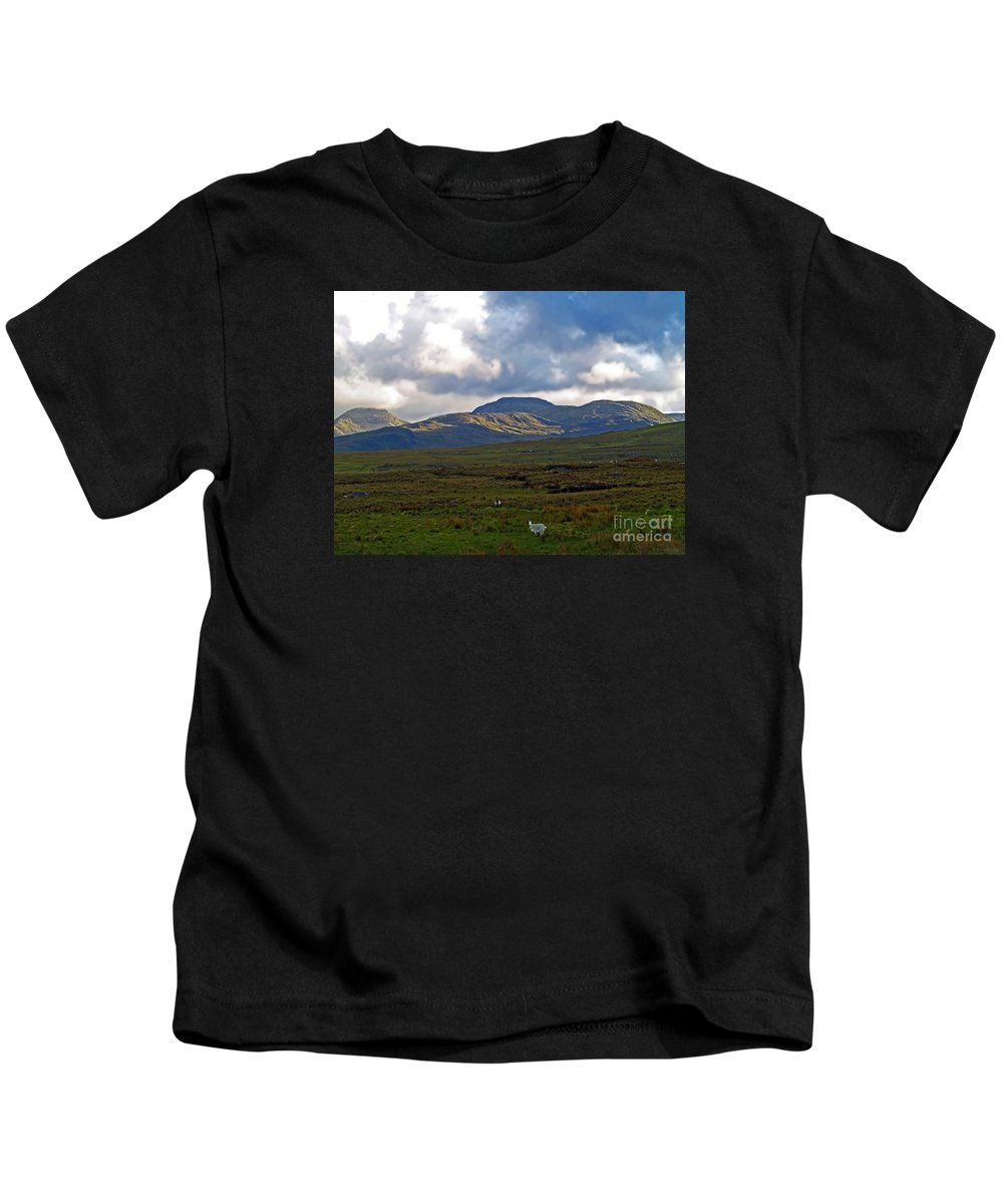 Fine Art Photography Kids T-Shirt featuring the photograph Who You Lookin' At by Patricia Griffin Brett