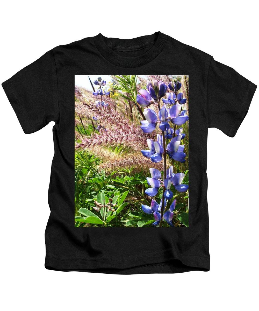 Flower Kids T-Shirt featuring the photograph Wild Flower by Shari Chavira