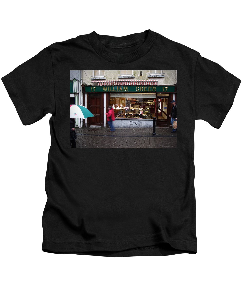 Ireland Kids T-Shirt featuring the photograph William Greer by Tim Nyberg