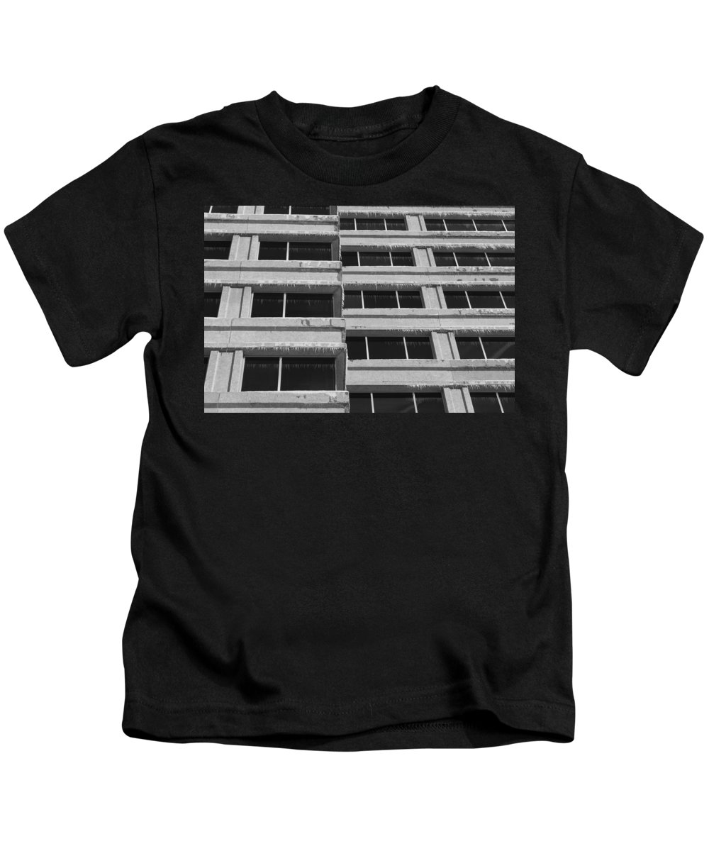 Window Kids T-Shirt featuring the photograph Window Cicles by Lauri Novak