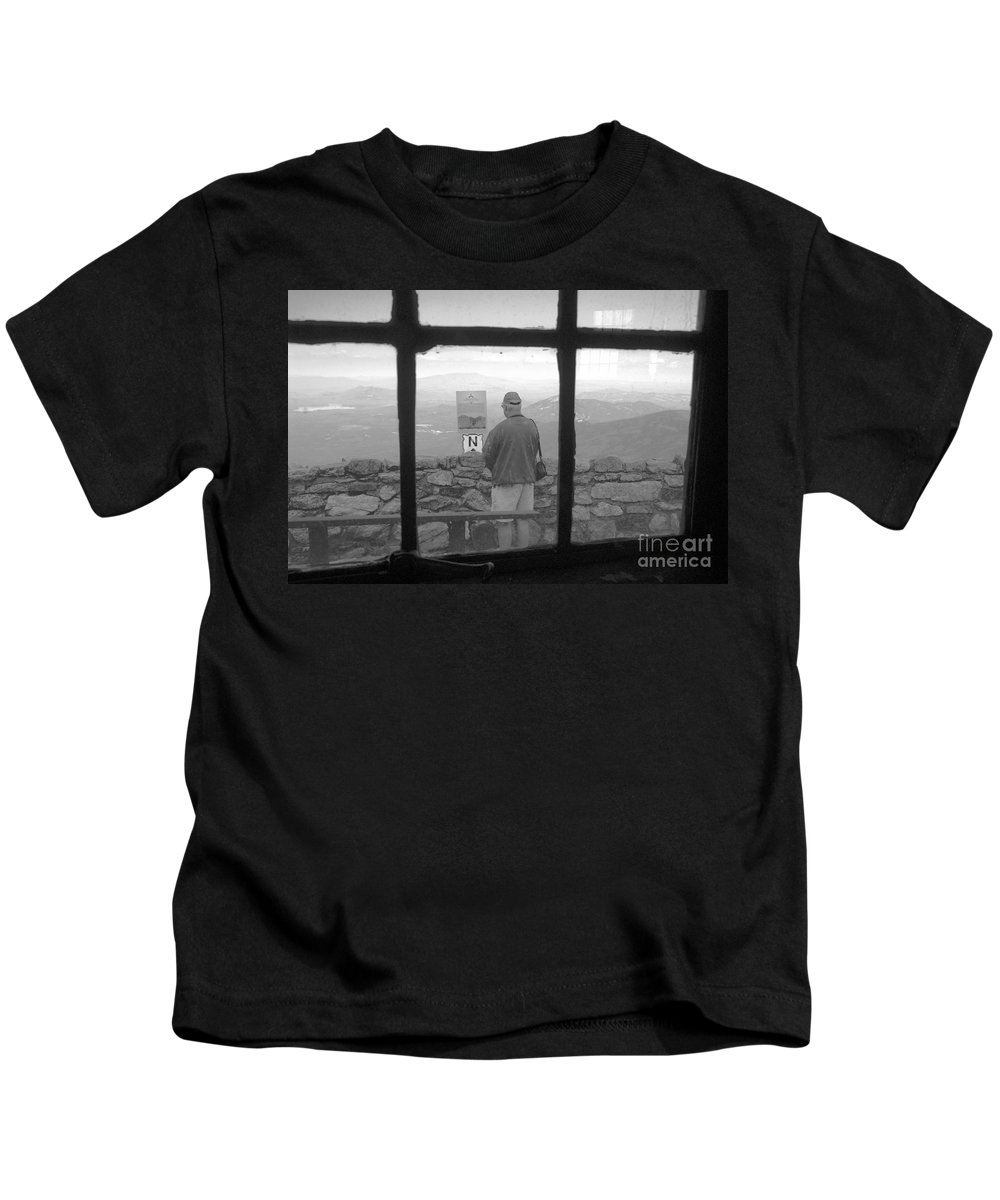 Windows Kids T-Shirt featuring the photograph Window On White Mountain by David Lee Thompson