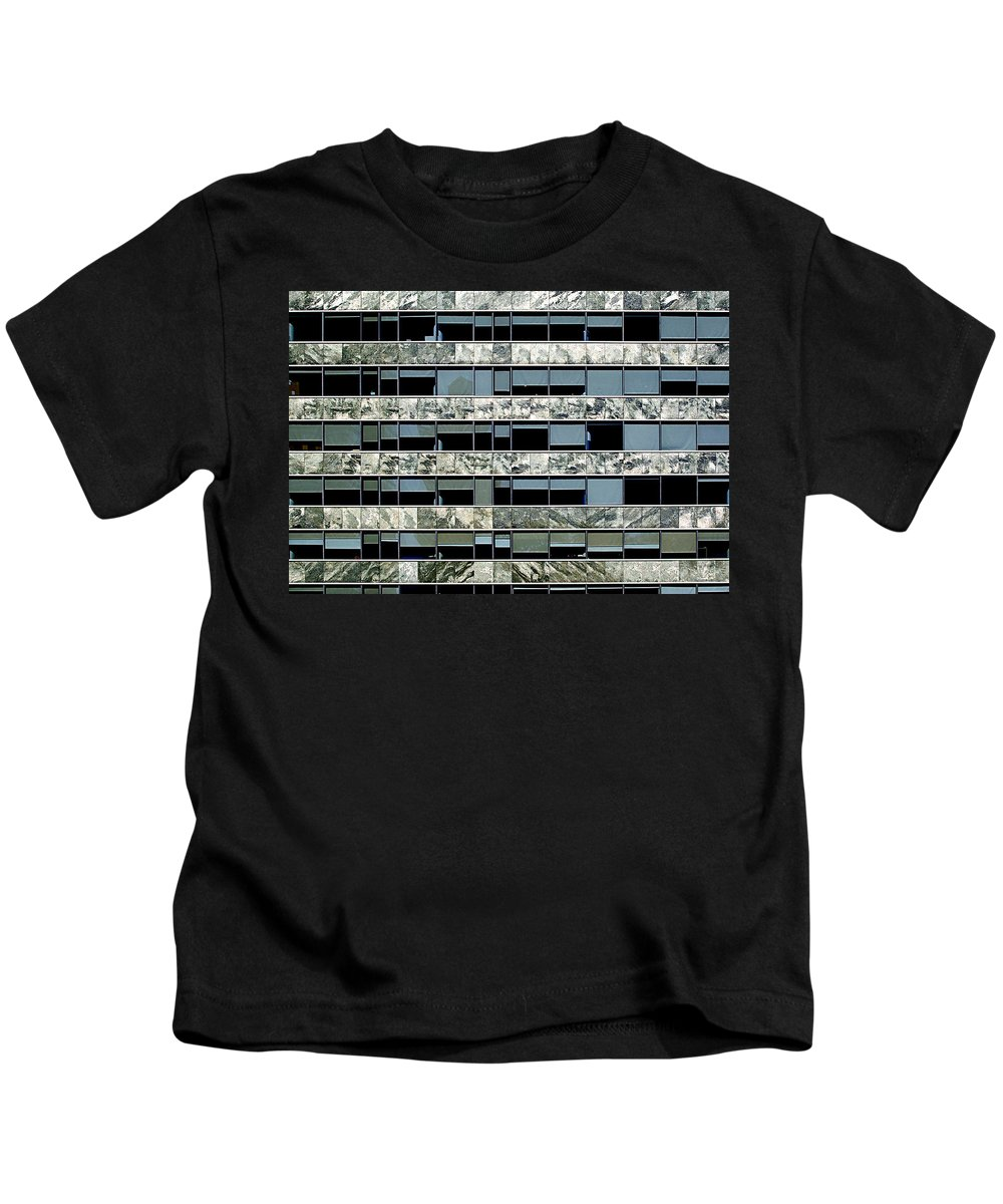 Buenos Aires Kids T-Shirt featuring the photograph Windows X by Osvaldo Hamer