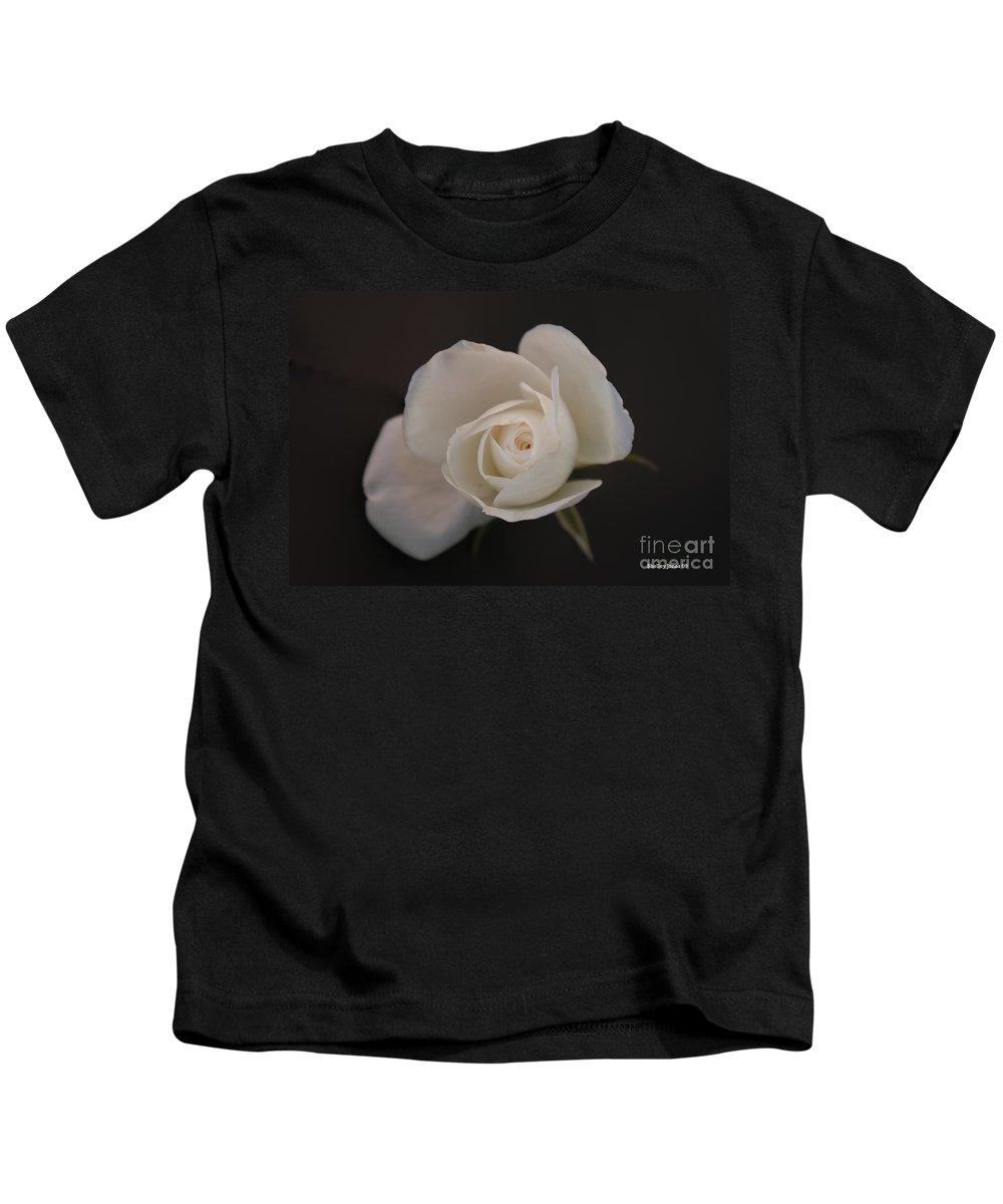 Rose Kids T-Shirt featuring the photograph Wonder by Shelley Jones