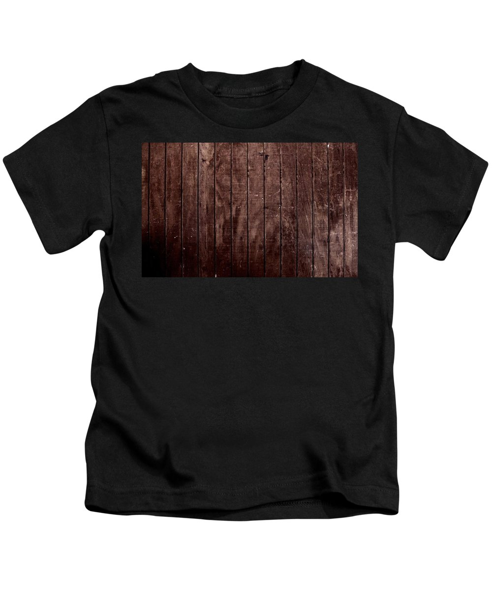 Wood Kids T-Shirt featuring the digital art Wood by Dorothy Binder