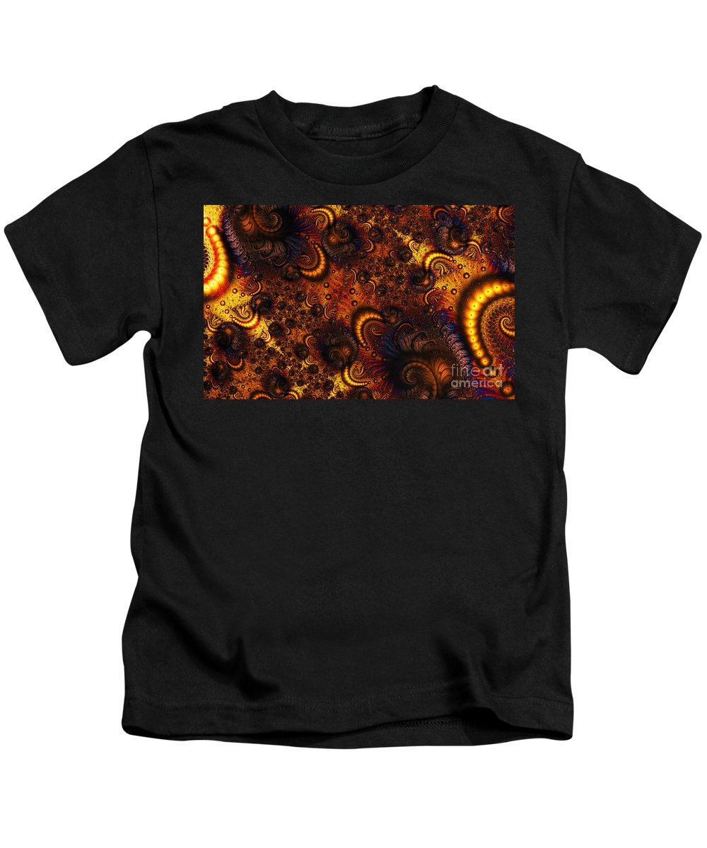 Clay Kids T-Shirt featuring the digital art Worm Infestation by Clayton Bruster