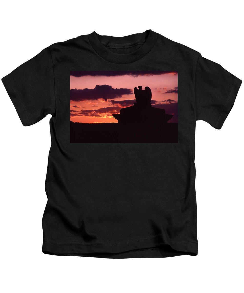 Eagle Kids T-Shirt featuring the photograph Wyoming Valley On My Mind... by Arthur Miller