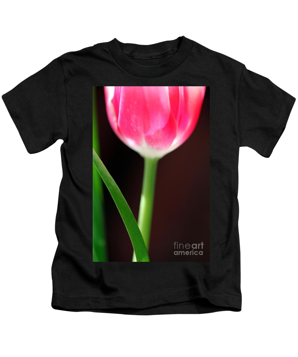 Tulips Kids T-Shirt featuring the photograph Yearning by Amanda Barcon