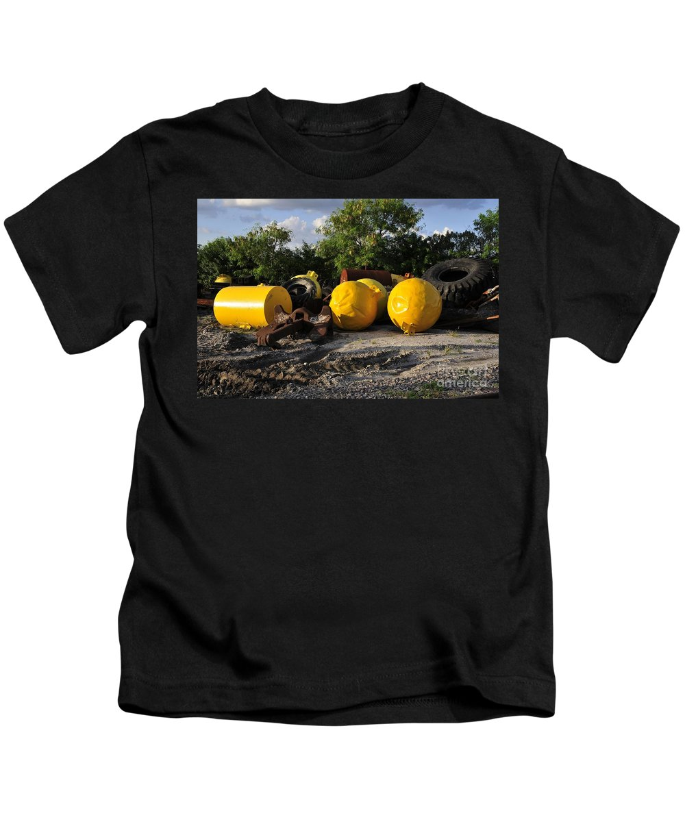 Yellow Kids T-Shirt featuring the photograph Yellow by David Lee Thompson