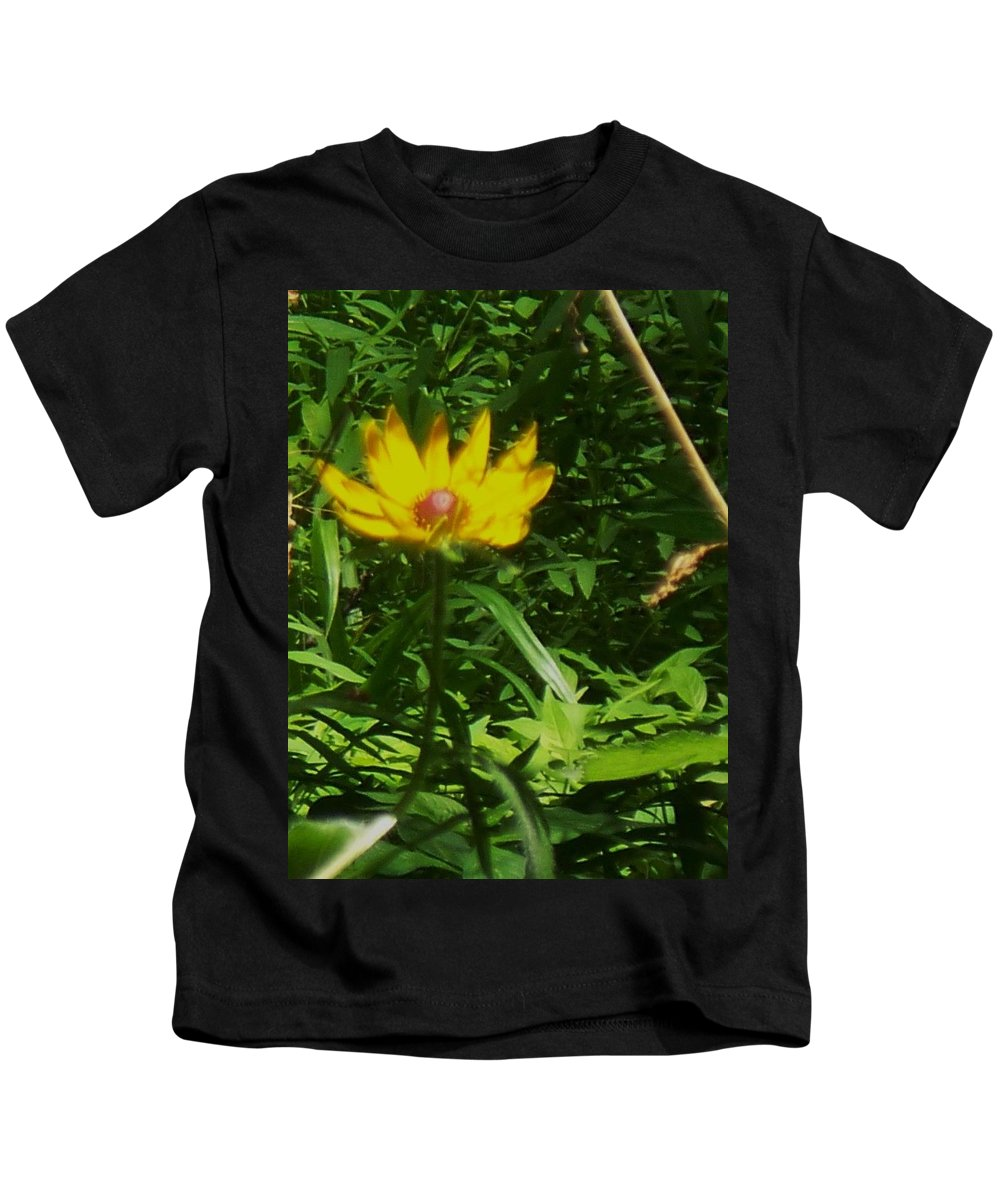 Flower Kids T-Shirt featuring the photograph Yellow Flower by Eric Schiabor