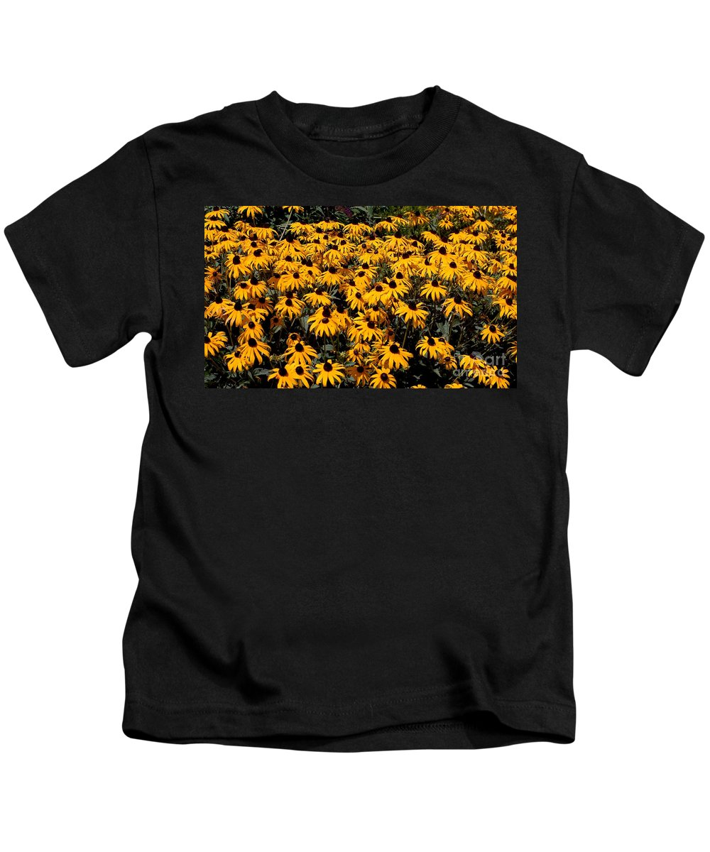 Digital Photo Kids T-Shirt featuring the photograph Yellow Is The Color Of ..... by David Lane