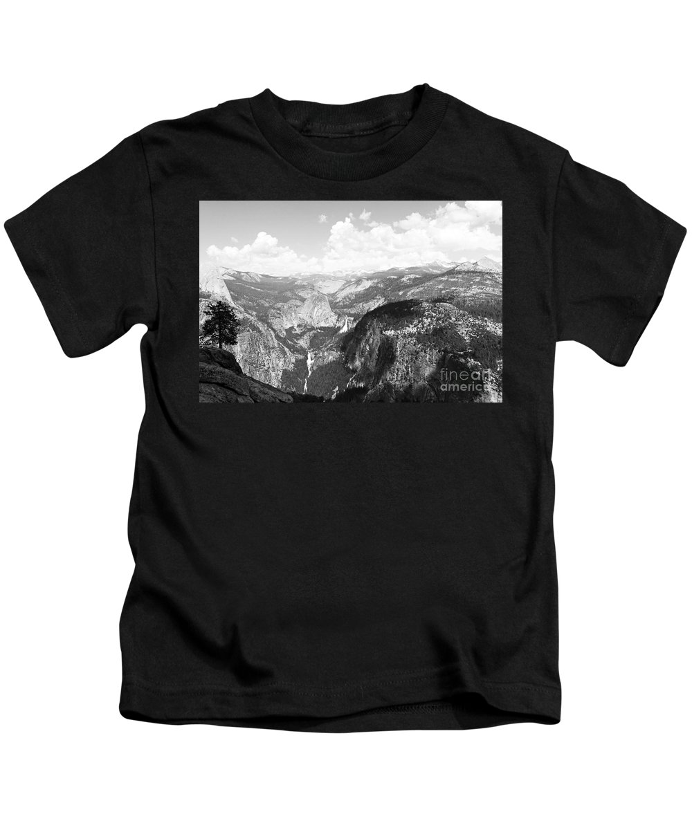 Yosemite Kids T-Shirt featuring the photograph Yosemite Valley by Bryrrose Photography