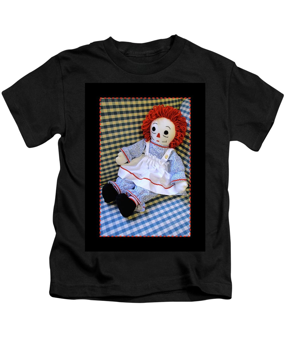 Rag Doll Kids T-Shirt featuring the photograph You Are Not Alone by Jane Alexander