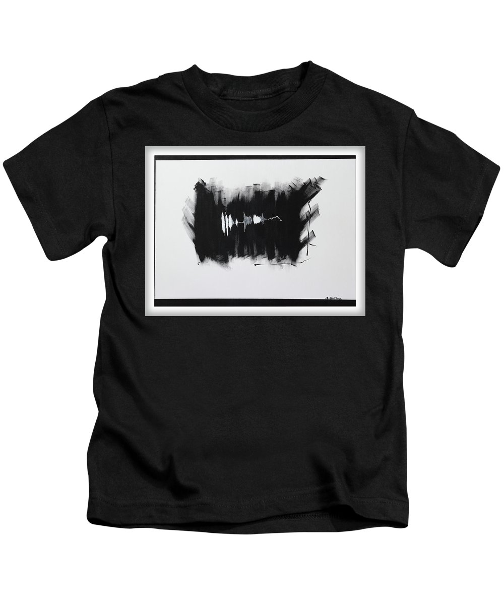 God Kids T-Shirt featuring the painting You Can Not Have My Soul by ElReco Ramon