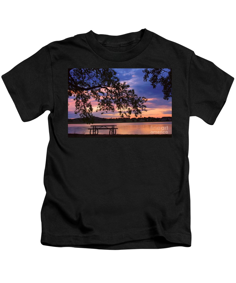 Sunsets Kids T-Shirt featuring the photograph Your Table Is Ready by James BO Insogna
