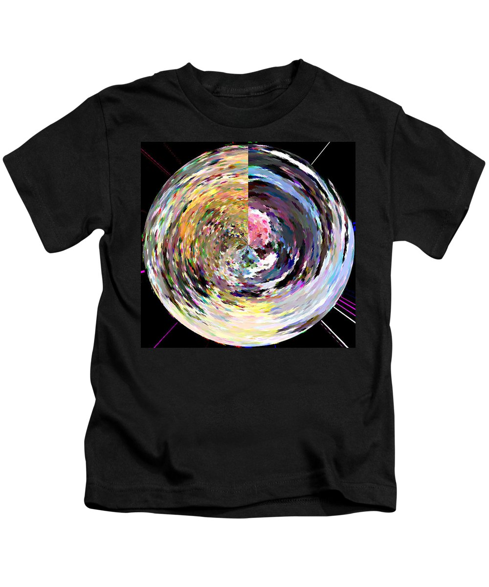 Digital Kids T-Shirt featuring the painting Zing by Anil Nene