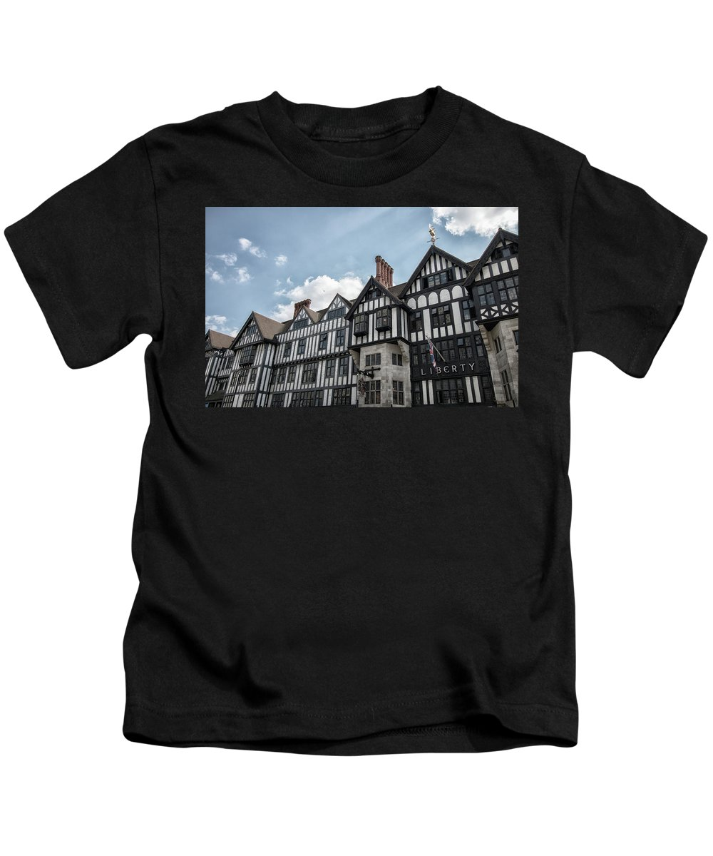 City Kids T-Shirt featuring the photograph Liberty by Martin Newman