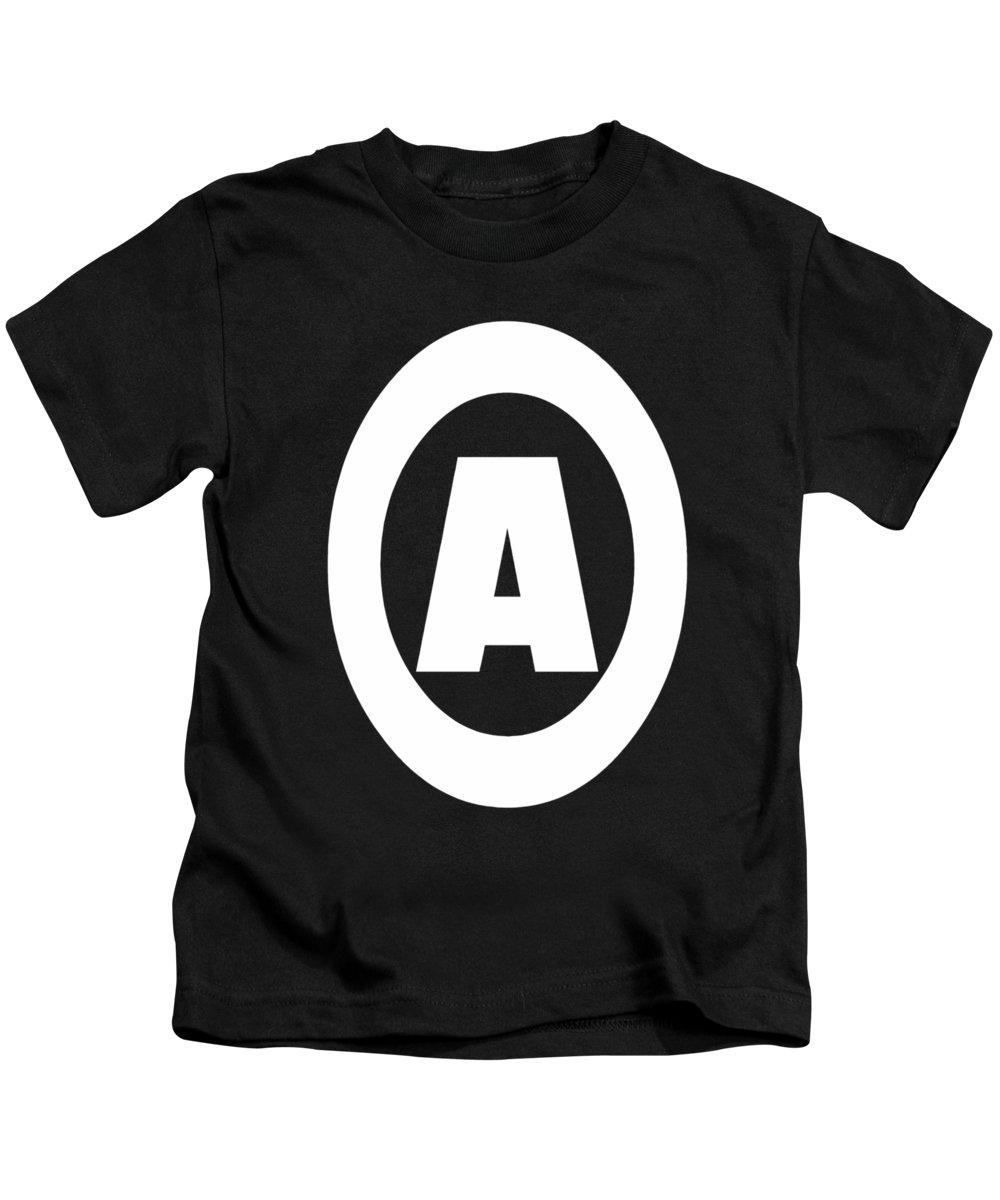 A Kids T-Shirt featuring the digital art A Design by Alexandre Organista