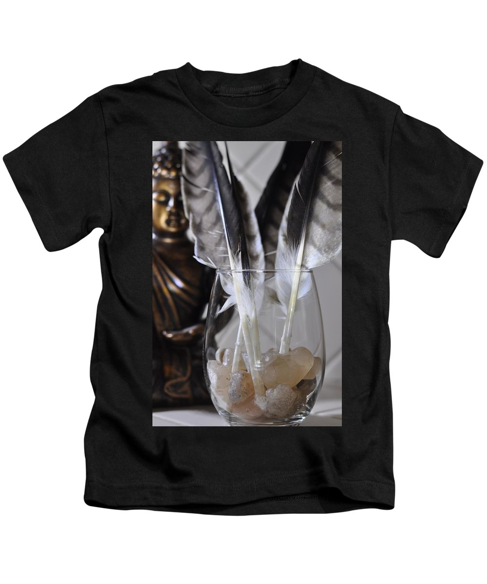 Feather Kids T-Shirt featuring the photograph Feathers 3 by Helen Wade