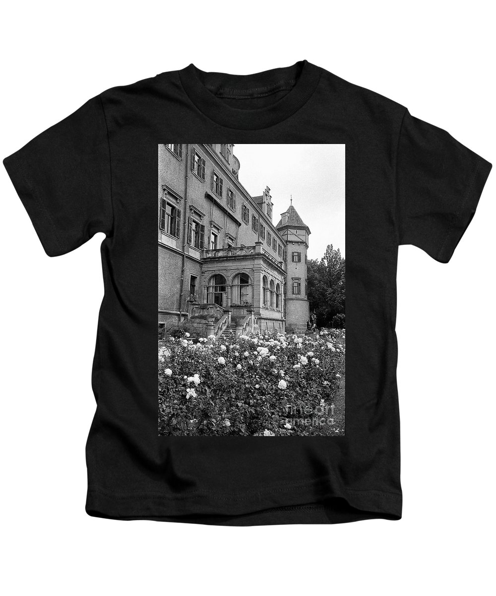 All Places And Roses Kids T-Shirt featuring the photograph Flower Garden by Venancio Diaz