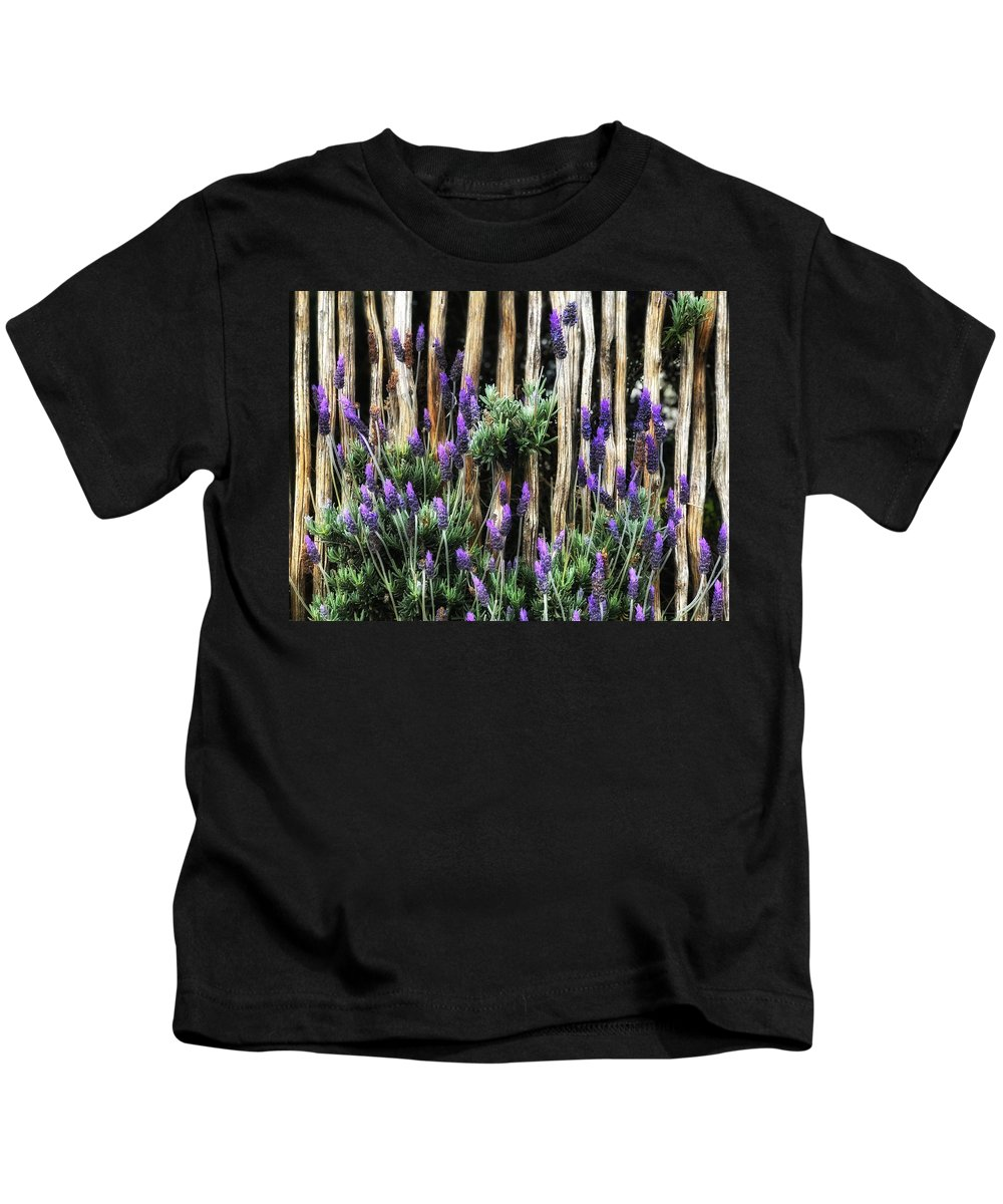 Flower Kids T-Shirt featuring the photograph Love Of Lavender by Cassie Robinson