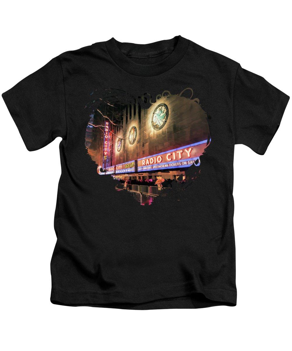 Music City Paintings Kids T-Shirts