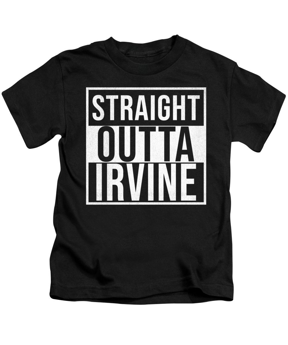 Scotland Kids T-Shirt featuring the digital art Straight Outta Irvine by Jose O