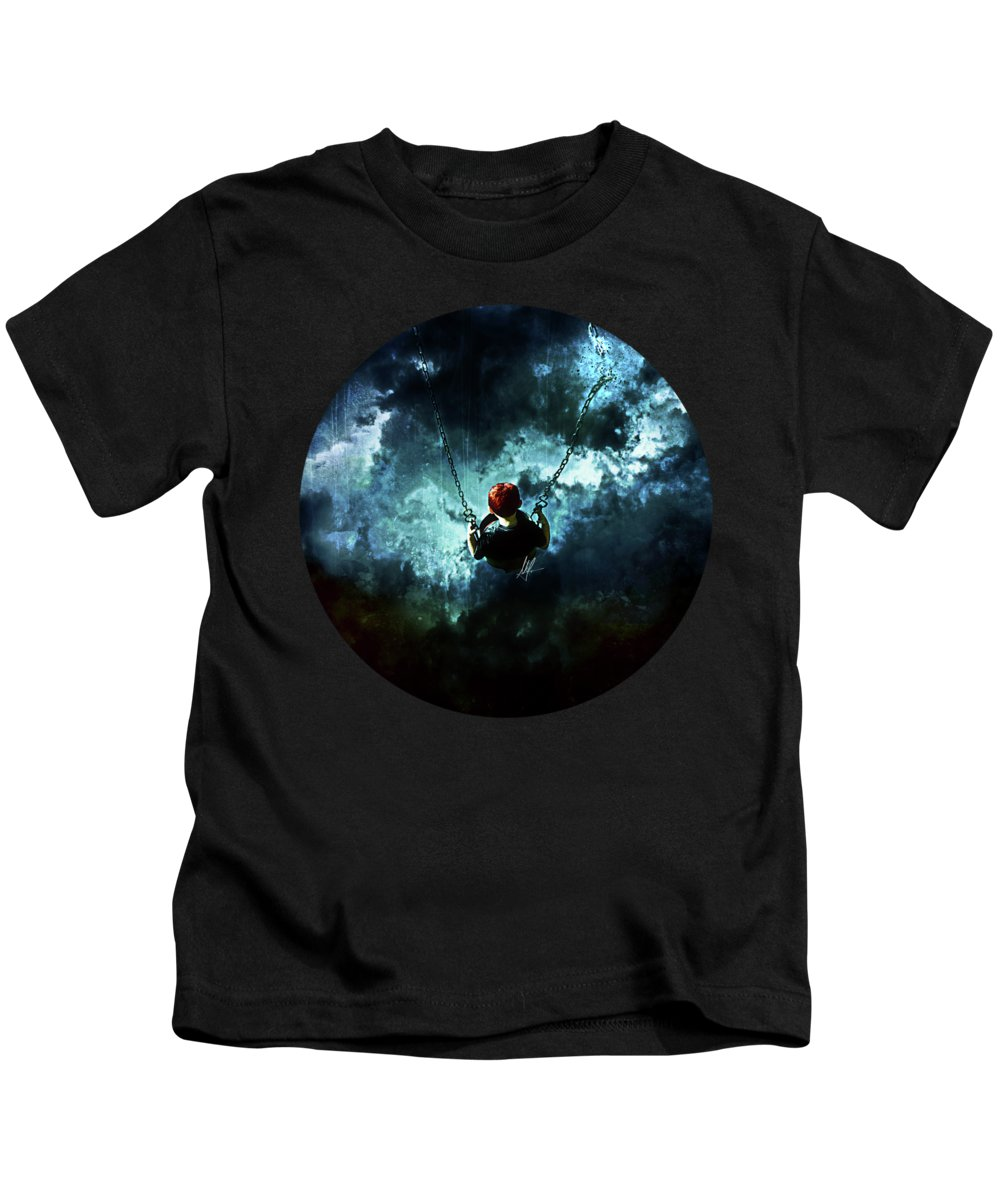 Storm Clouds Kids T-Shirts