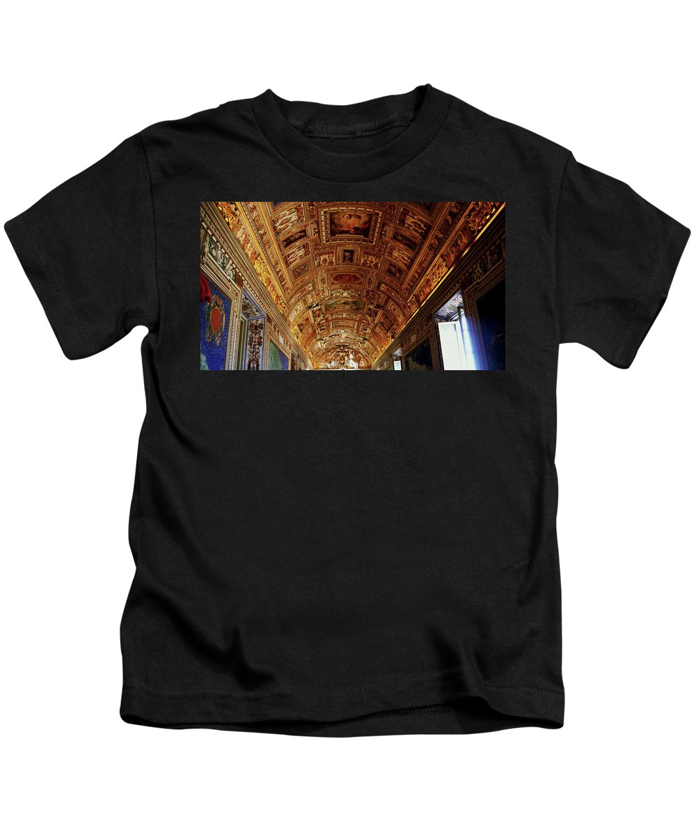 Color Kids T-Shirt featuring the photograph Vatican City by Romaisa Hashmi