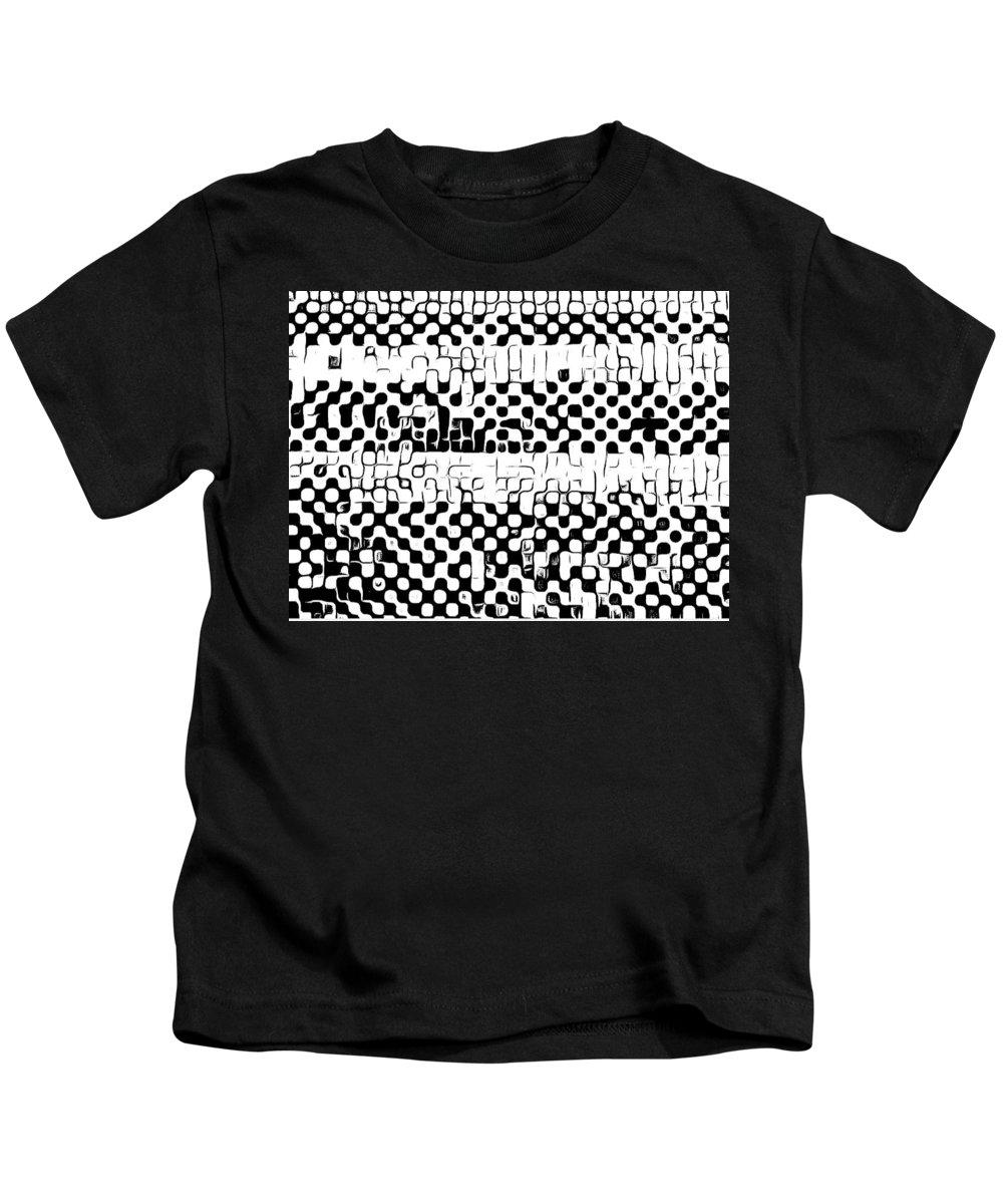 Art Kids T-Shirt featuring the digital art Details by Andrew Johnson