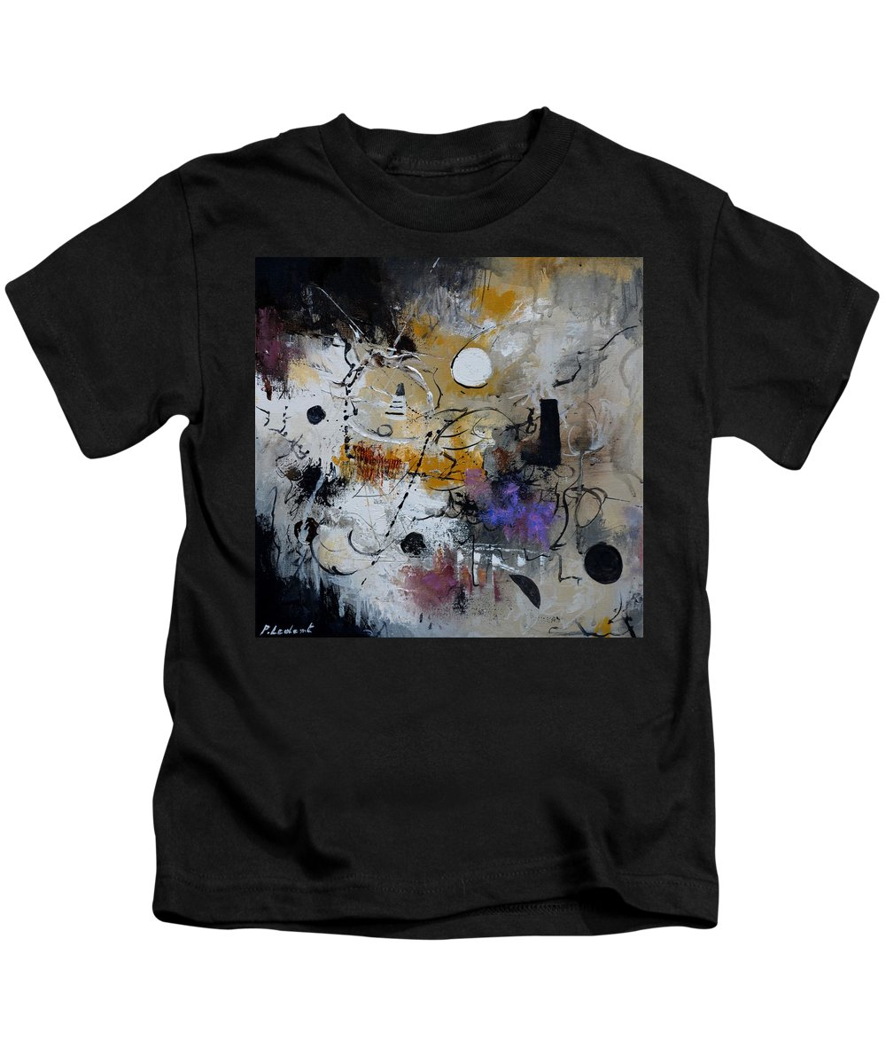 Abstract Kids T-Shirt featuring the painting Hamilcar s strategy by Pol Ledent