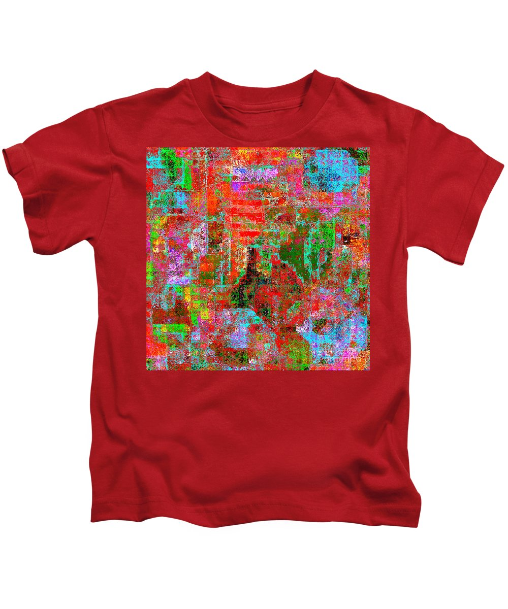 Abstract Kids T-Shirt featuring the digital art 1306 Abstract Thought by Chowdary V Arikatla