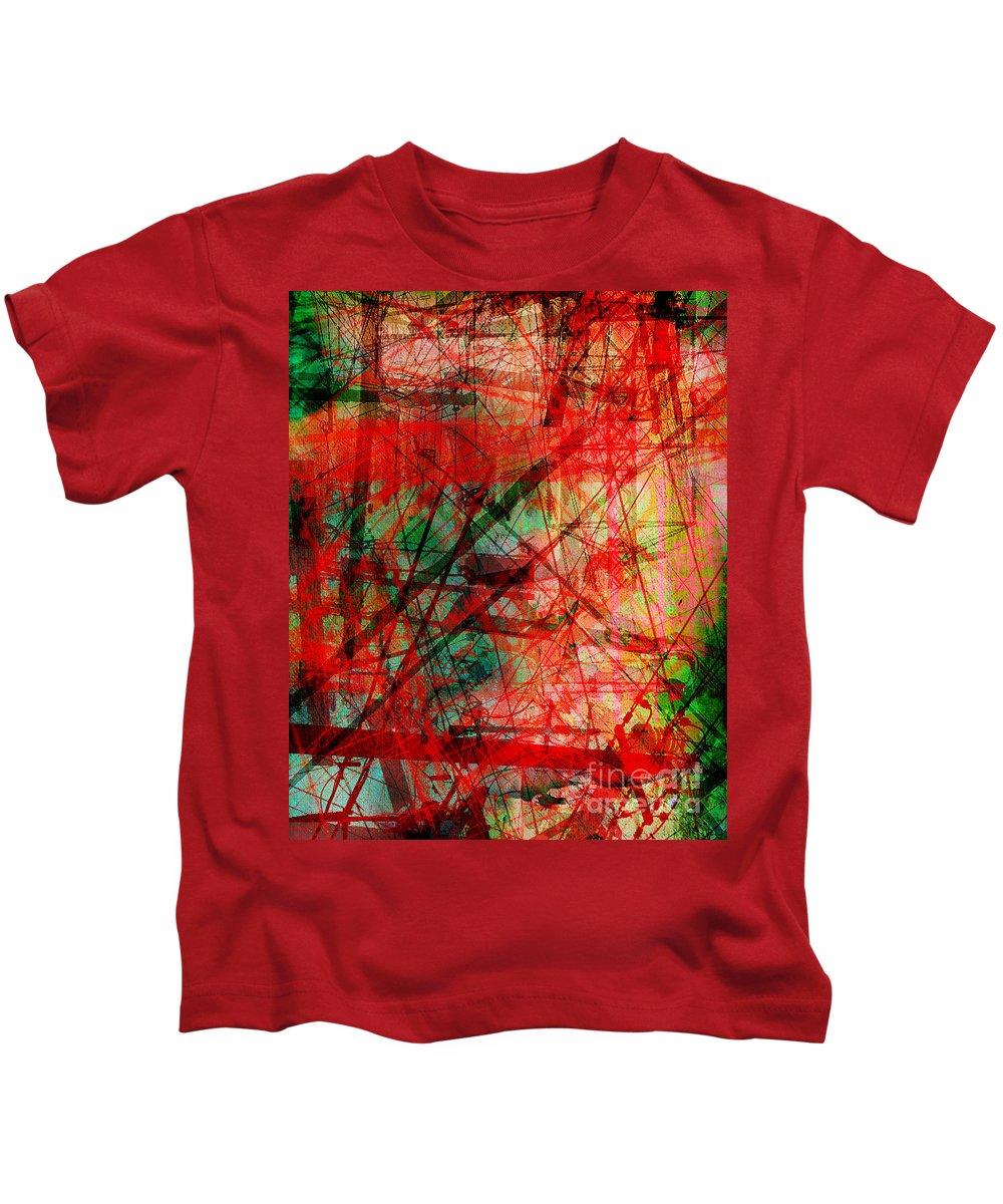 Brandon Lynch Kids T-Shirt featuring the digital art The City 14 by Brandon Lynch