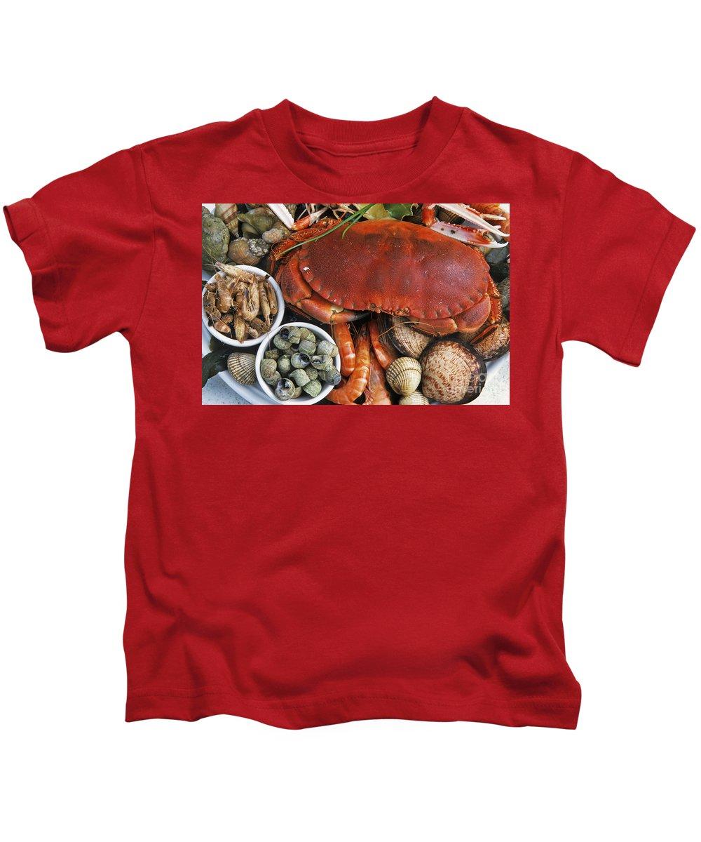 Ile De Re Kids T-Shirt featuring the photograph 110307p165 by Arterra Picture Library