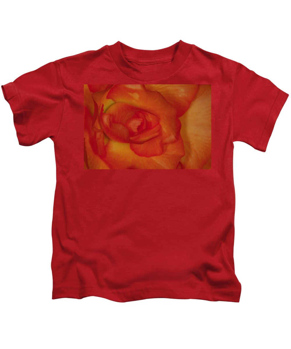 Flower Kids T-Shirt featuring the photograph Begonia 5 by Andy Shomock