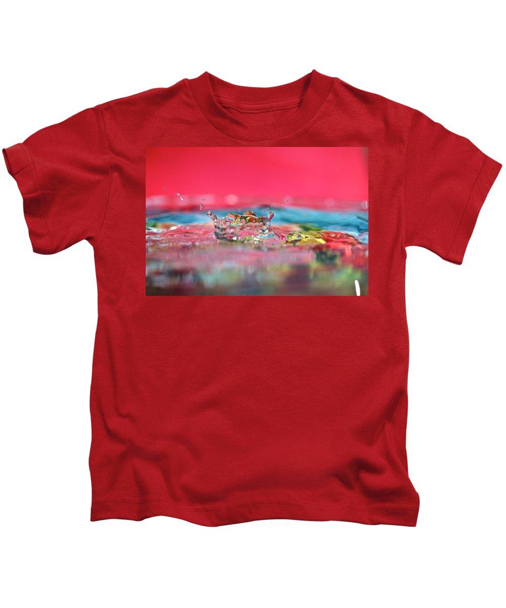 Celebration Kids T-Shirt featuring the photograph Celebration by Lisa Knechtel