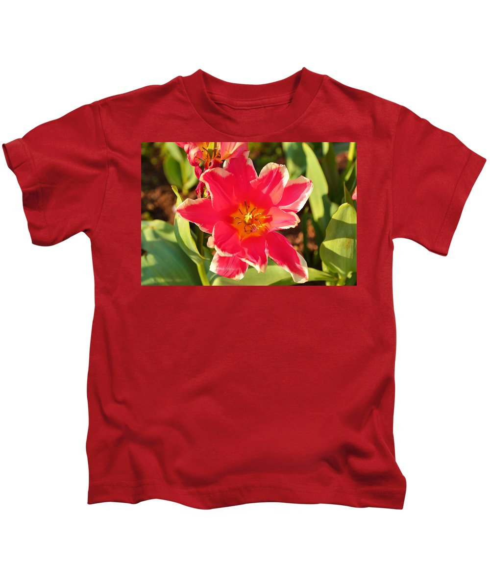 Architectural Kids T-Shirt featuring the photograph Cherry Blossoms 2013 - 093 by Metro DC Photography