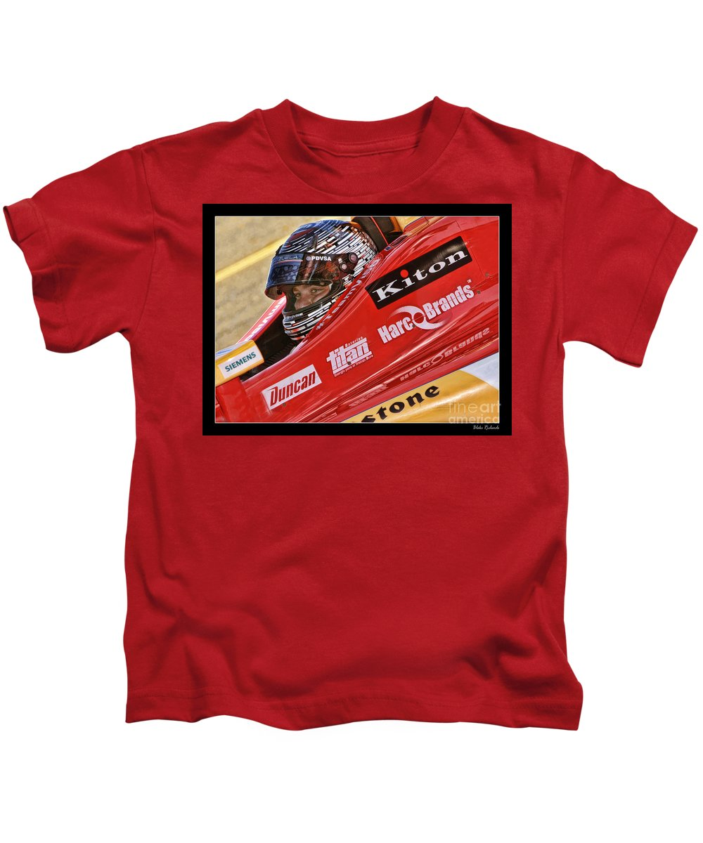 E.j. Viso Kids T-Shirt featuring the photograph E.j. Viso by Blake Richards
