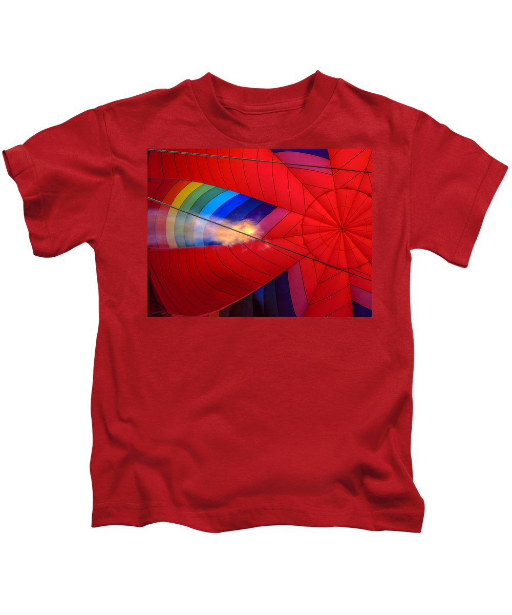 Guy Whiteley Photography Kids T-Shirt featuring the photograph Fill 'er Up by Guy Whiteley
