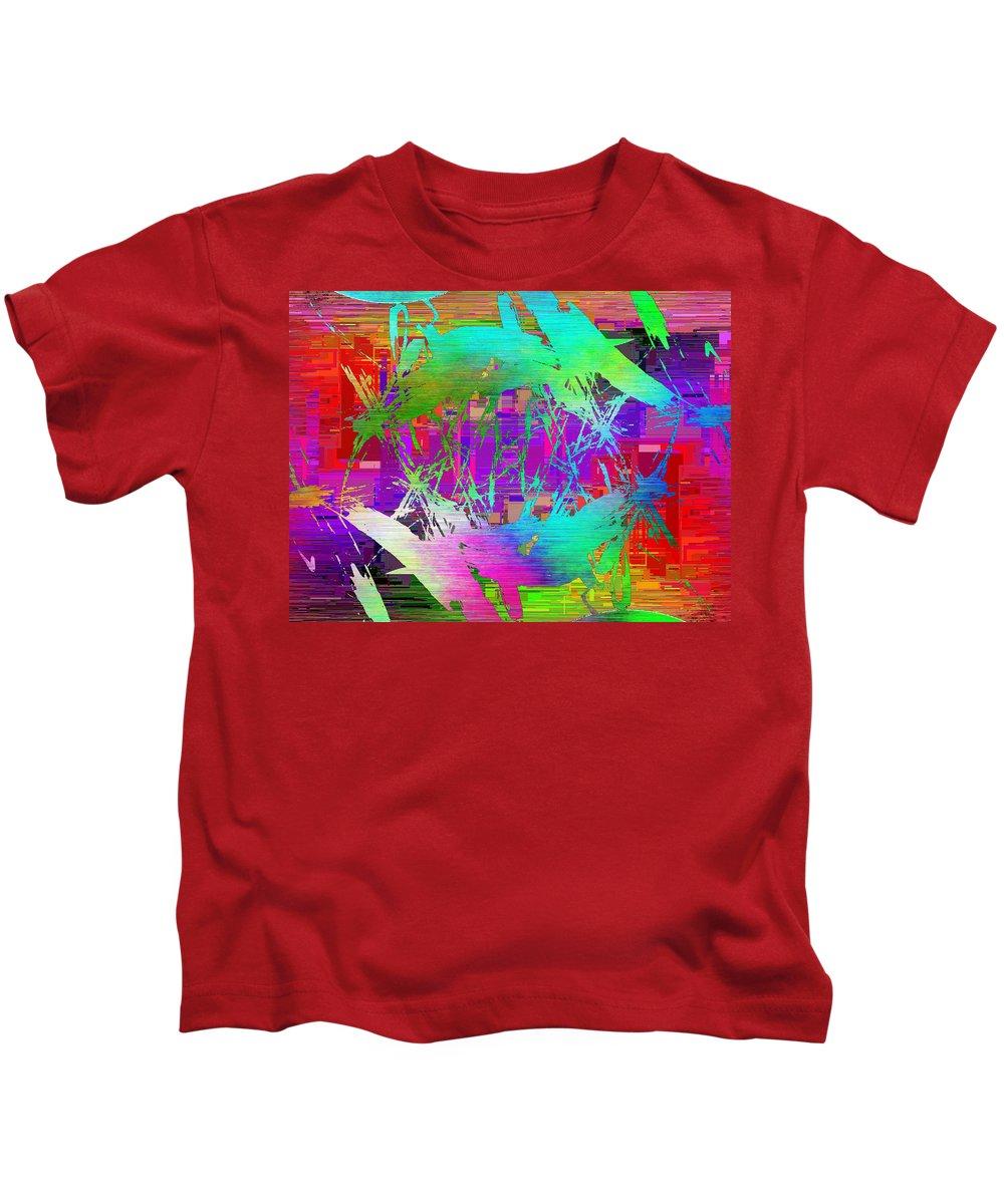 Graffiti Kids T-Shirt featuring the digital art Graffiti Cubed 2 by Tim Allen