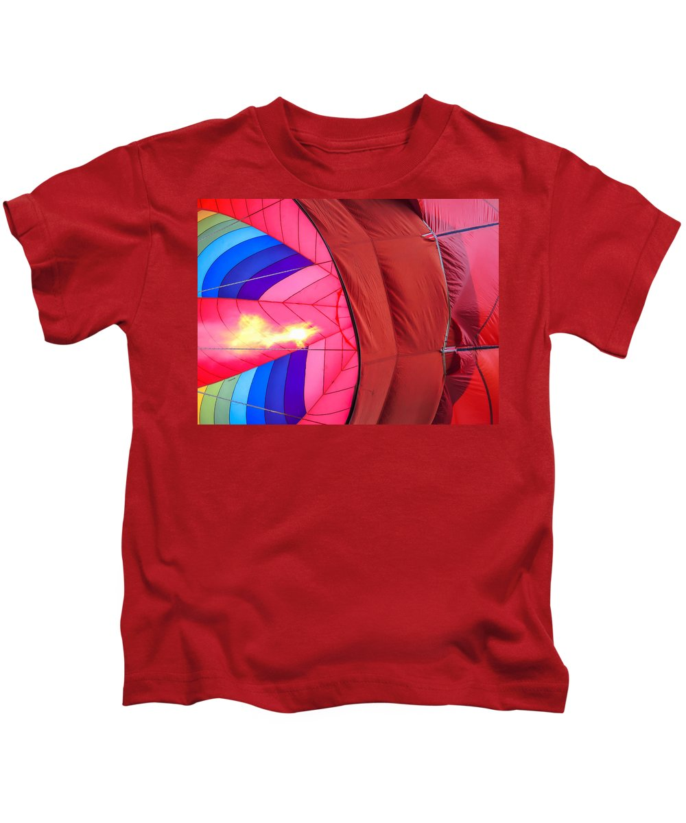 Guy Whiteley Photography Kids T-Shirt featuring the photograph Inflation by Guy Whiteley